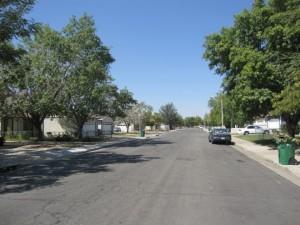 車社会だからなのでしょうか、人通りが全くありません。